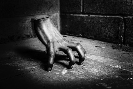 [Photograph] Creepy hand courtesy of gratisography.com